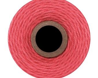 Deep Pink Solid Divine Twine (240 yards) Solid Pink
