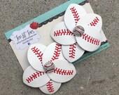 St. Louis Cardinals Basebal Flip Flop Accesories - Baseball Flip Flops - Baseball Flip Flop Clips - Baseball Mom Accessory - Baseball Jewel