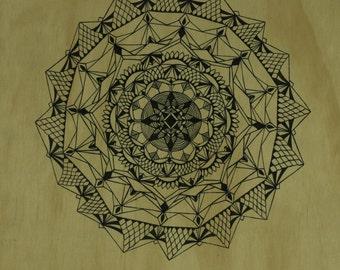 Mandala Print ~ Hand Drawn