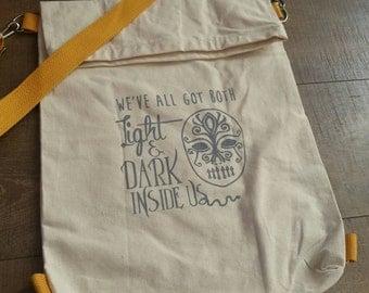 Hybrid Bag - Light and Dark