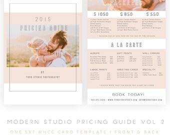 Modern Studio Pricing Guide vol 2