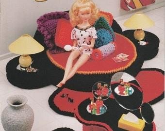 Crochet Pattern Barbie Furniture Bedroom Jazz by Annie's Attic Leaflet 541B