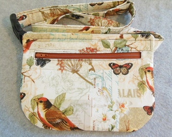 Hip Bag - Song Birds and Butterflies