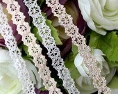 cotton torchon lace by the yard (width 0.8cm) 83490