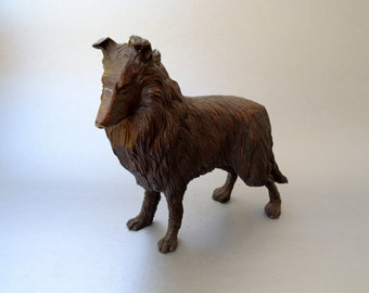 Vintage Ceramic Dog Figurine