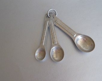 Set of Vintage Measuring Spoons