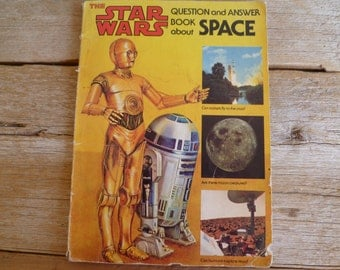 Star Wars Question an Answer Book about Space  1979