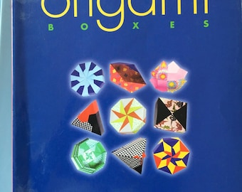 BWB craft BOOK    Joyful Origami Boxes by Tomoko Fuse  REDUCED