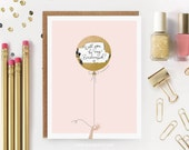 "6 Scratch-off ""Will You Be My Bridesmaid / Maid of Honor?"" Write-in Invitations // Gold Foil Balloon // Set of 6"