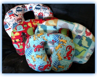 Travel Pillow - Car Seat Neck Support - Infant to Adult Sizes - Garden Friends