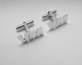 Cuff links for the groom Corporare gift Groomsmen gift Wedding cuff links best man gift engraved cufflinks suit accessories