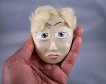 Scheming Shane Parkes, a Paperclay Melandolly Wall Mask Ornament