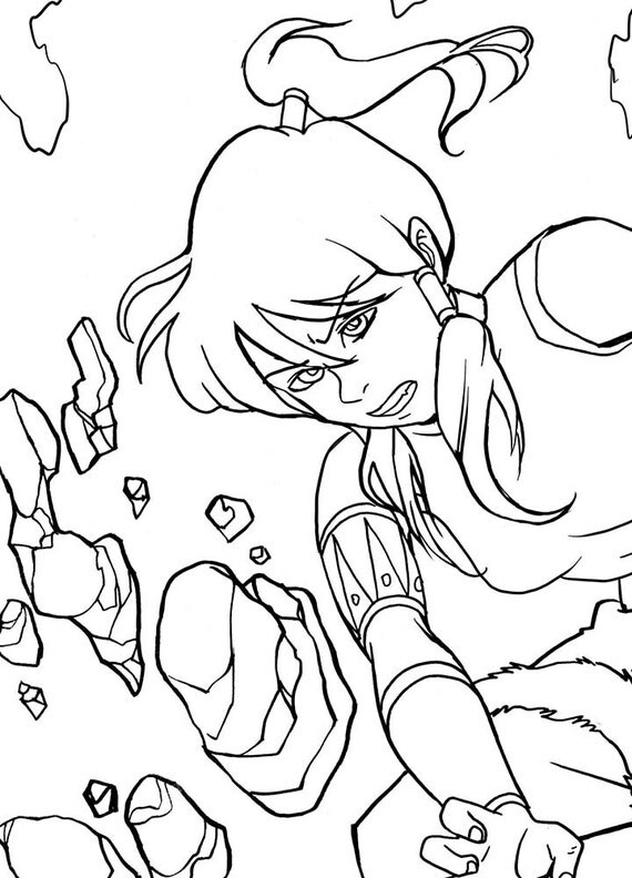avatar coloring pages - photo#14