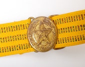 Vintage Military Parade Belt from Soviet Union, USSR (1)