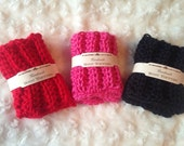 Crochet Boot Cuff Pattern-Womens and child sizes=Boot Toppers