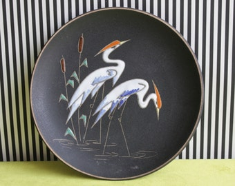 Vintage West German Pottery Ruscha Wall Plate