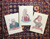Game of Thrones Greeting Card 3-Pack