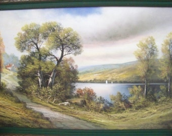 Original Pastel Landscape Painting by Andrew Gunderson