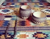 Made To Order Ceramic planter pottery Navajo inspiration Carved  sgraffito Vase home deco GEO  Aztec Geometric Wheel thrown vase