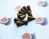 Fig Scented Cone Incense - Incense Cones - Aromatherapy - Aroma - Essense - Home Decor - Gift for Adults