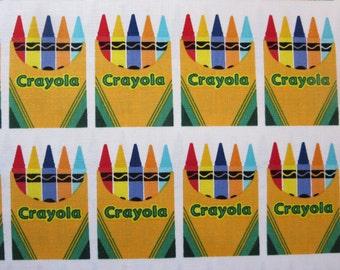Riley Blake Crayola - C5402 - Crayola Box