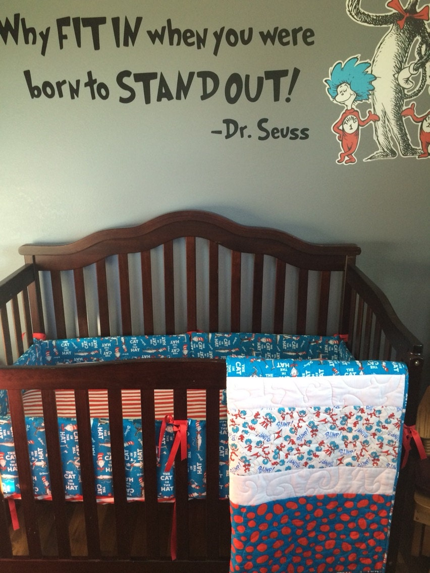Dr Seuss Crib Bedding Sets Baby Bedding Toddler Bedding Dr