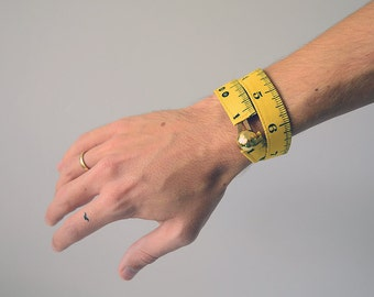 measuring tape bracelet - fabric washable accessaries for craftsman