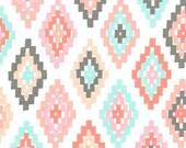 Cornered in Blush   mc6988 - ARROW FLIGHT - Michael Miller Fabrics - By the Yard