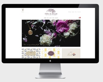 Squarespace Ecommerce Website. Custom Online Shop Design