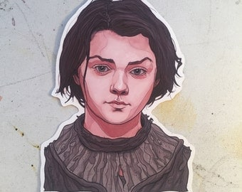 Arya Stark GAME of THRONES Waterproof Sticker