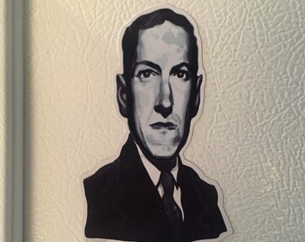 HP Lovecraft Fridge Magnet