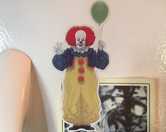 IT Pennywise Clown fridge magnet