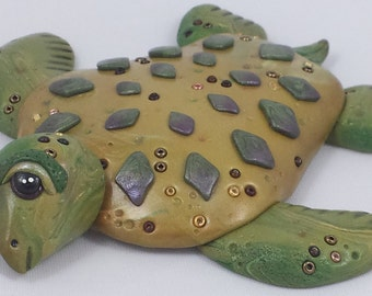 Olive Green Sea Turtle