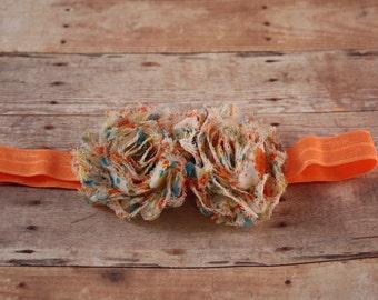 Infant Headband Elastic Headband With Fabric Flower