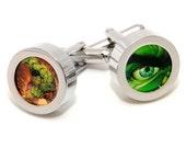 Incredible Hulk Cufflinks - Comics Fashion Accessories - With Gift Box