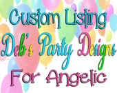 CUSTOM LISTING for Angelic for Shopkins Package