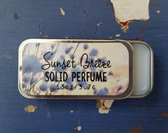 Perfume, Fragrance, Sunset Breeze Solid Perfume by Sweetfire Road