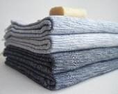 Free Shipment SET 4 Piece - Bathstyle Turkish BATH Towel Peshtemal - Cotton - Beach, Spa, Swim, Pool Towels and Pareo