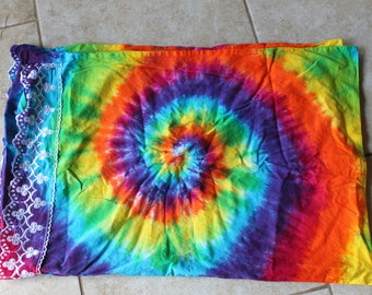 Tie Dye Pillowcase standard and King sizes