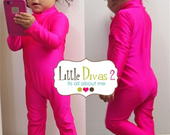 UNITARD /18m- 24m ---Mock Neck Unitard....Colors Available great for COSTUMES/HALLOWEEN