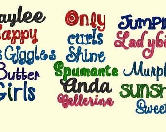 font listings
