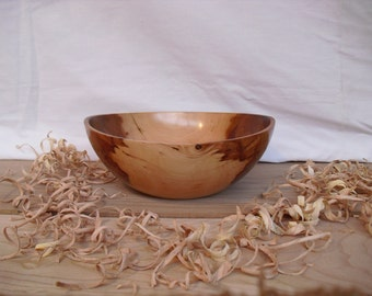 Crabapple open form bowl