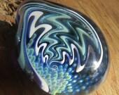 Boro Glass Lampwork Pendant Switchback Wig Wag Implosion Borosilicate Bead Collection