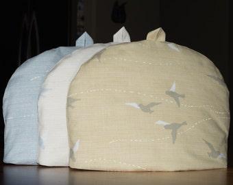 "Tea Cozy (Standard) - ""Birds"", Etoffe Imprevue, Yoko Saito, Lecien"