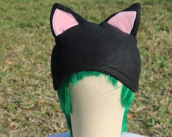 Cat beanie fleece animal hat