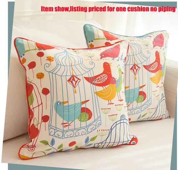 Items similar to Decorative Throw Pillow cover Pillow Case Cushion Zipper Outdoor Lumbar,Wedding ...