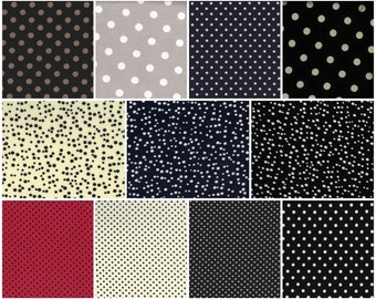 Swatches For Matte Jersey Garments Dots