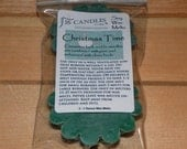Christmas Time Soy Tart Melts ~ 2 Pack ~ Scented Wax Melts ~ Christmas Fragrance ~ Sweet and Woodsy