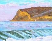 Coronado Beach Painting Original Oil Plein Air