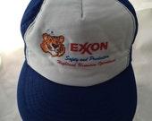 Vintage Exxon Ball Cap